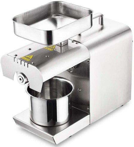 automatic cold press oil machine