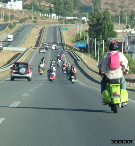 Chile scooter rally