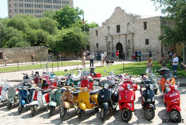 Amerivespa 2010, San Antonio, Tex.