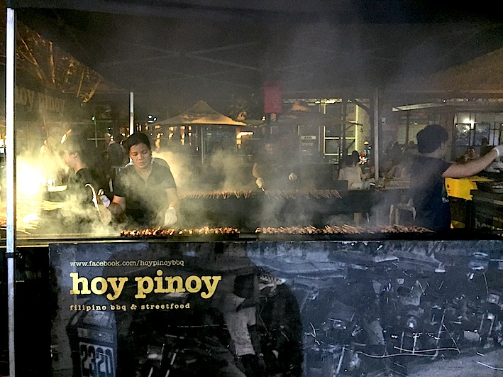 Hoy Pinoy, Philippino street food