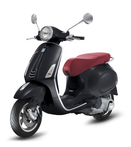 vespa 150 cc preta