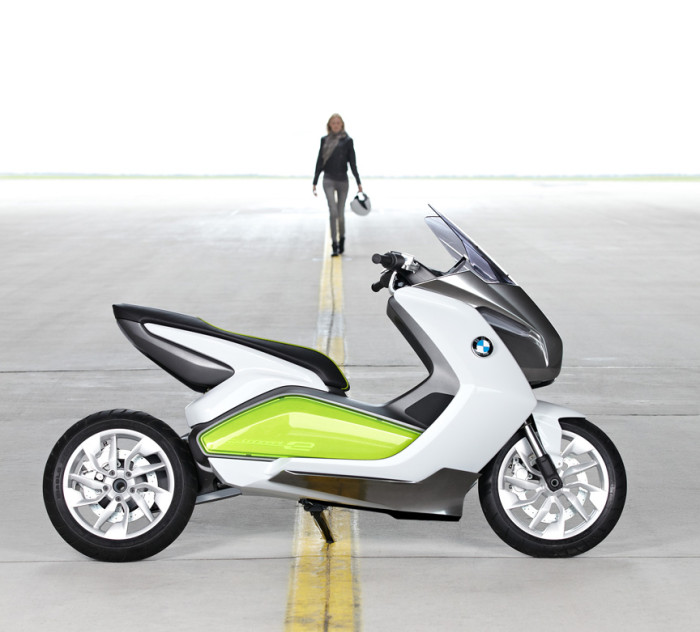 The Great Leap Forward? BMW's electric Concept E.