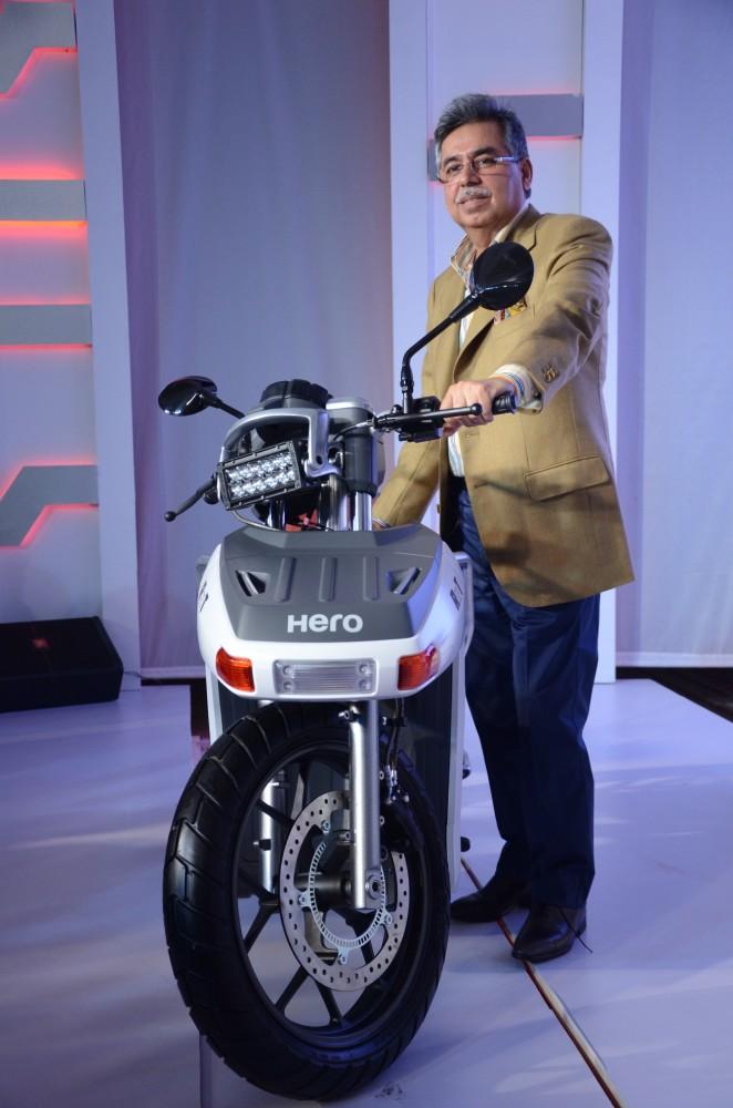 Hero RNT Diesel Hybrid Scooter