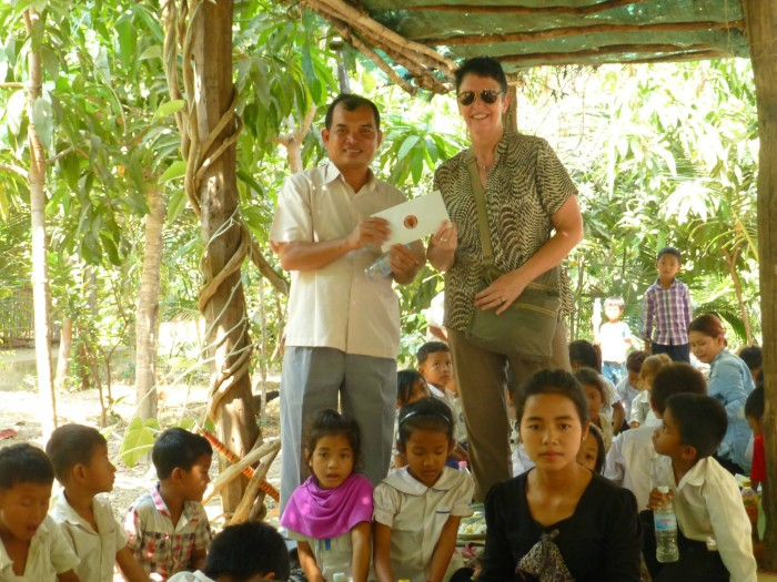 2016 visit to donate VCoM funds