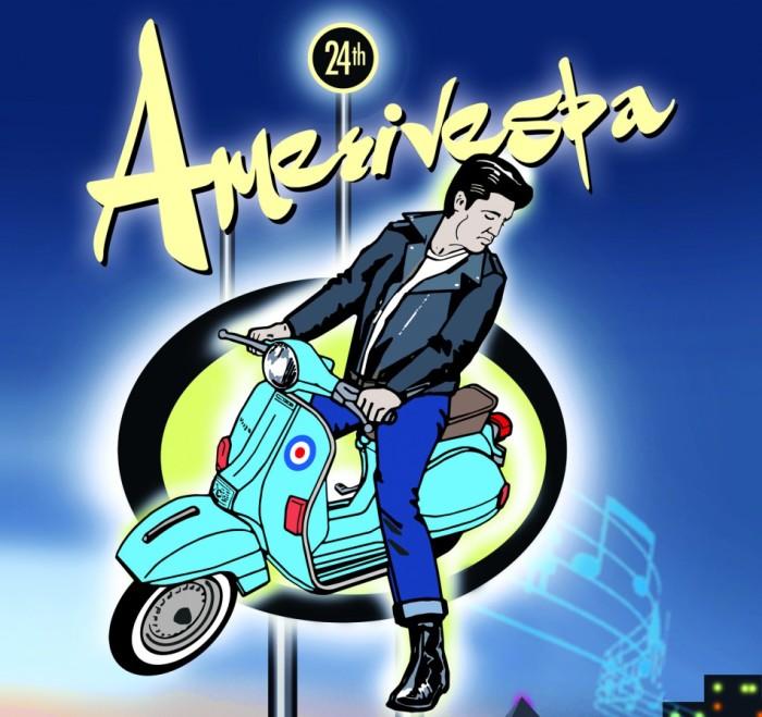 Amerivespa Indy Poster