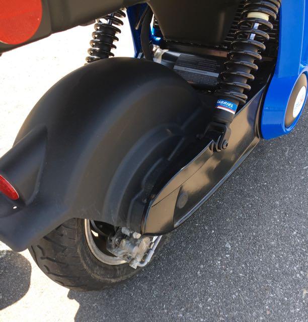 Rear wheel/motor of the 2.0