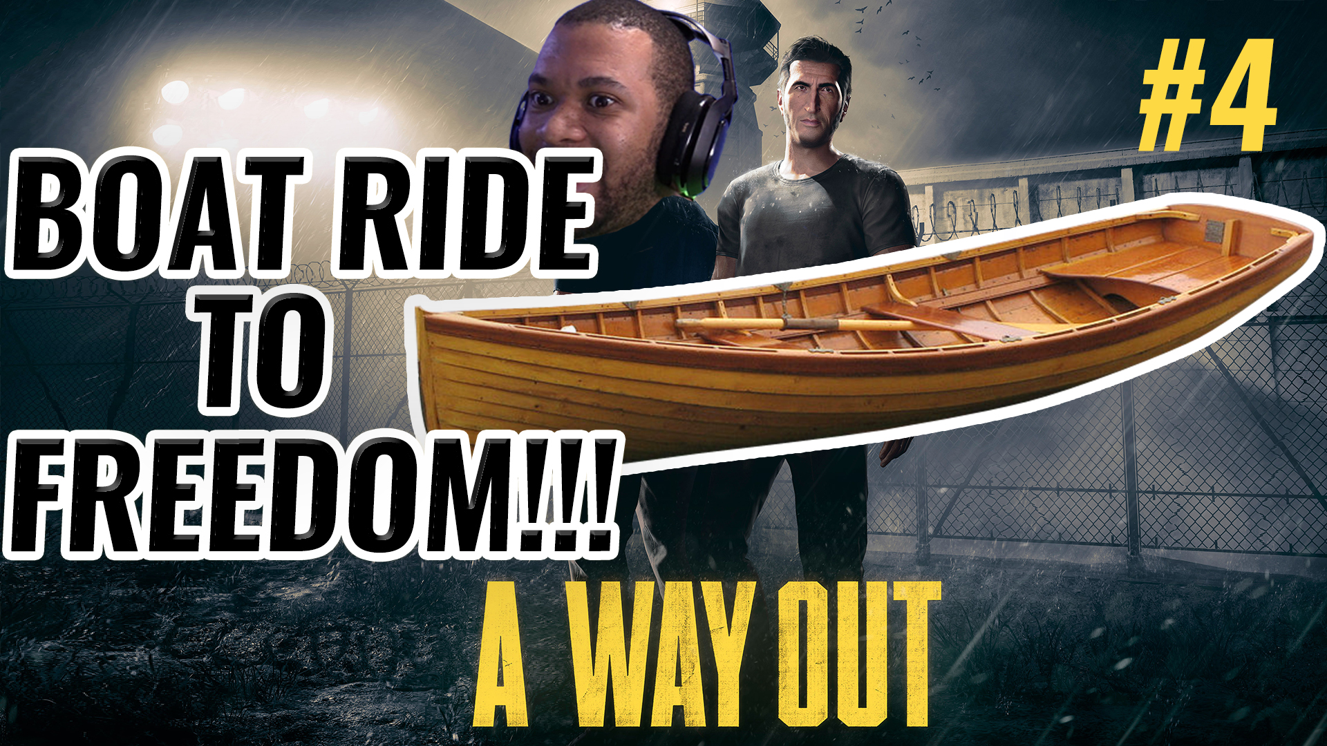 BOAT RIDE TO FREEDOM!!! [A WAY OUT #4] Thumbnail