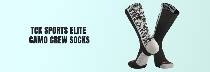 TCK Sports Elite Camo Crew Socks