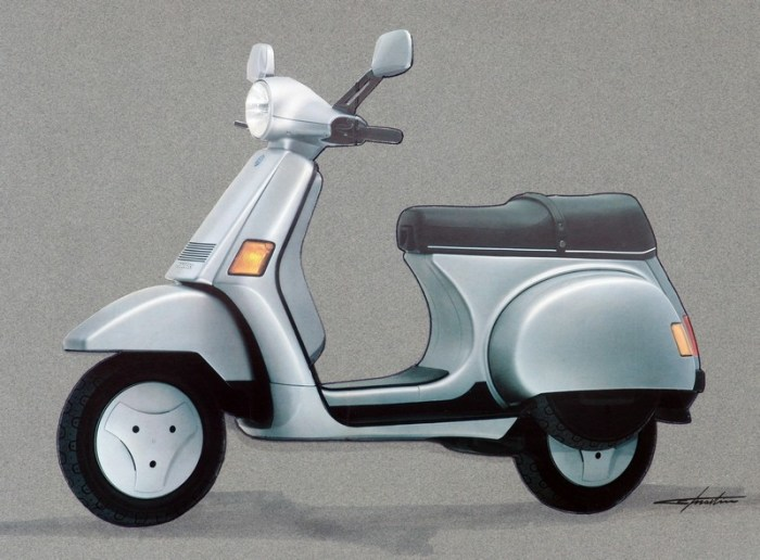 The Vespa Cosa, designed by Paolo Martin.