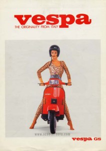Vespa GS200 – The originality from Italy