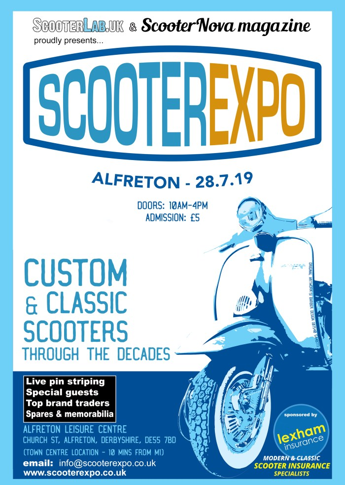 scooter expo ad-poster