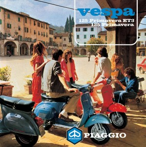 1970s Vespa Primavera sales leaflet