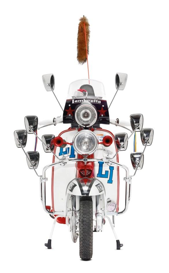 The U$209,000 replica of Jimmy's Lambretta from the film Quadrophenia.