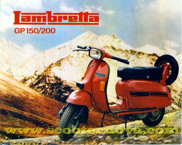SIL Lambretta advert from the 1990s.