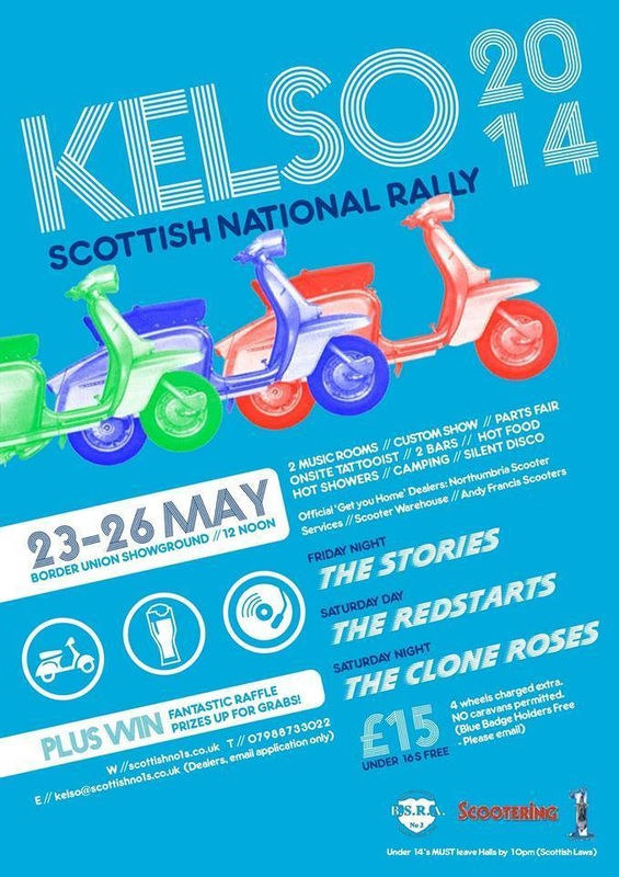Kelso BSRA Rally 2014