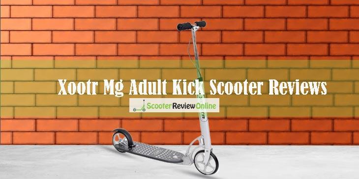 Xootr Mg Adult Kick Scooter Reviews