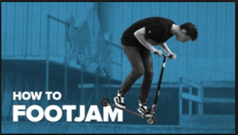 How to Footjam on a Scooter