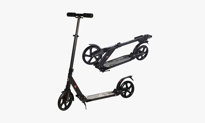 Rimable Foldable Adult Scooter