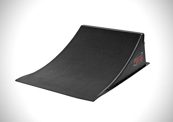 "Discount Ramps SK-904-R Black 12"" High Skateboard Launch Ramp"