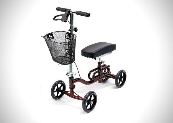 Karman Luxury Lightweight 4-Wheeled Knee Walker
