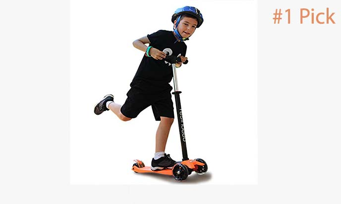 THREE or FOUR Wheel Scooter Height Adjustable Lean to Steer Age 3yrs /& Over BNIB