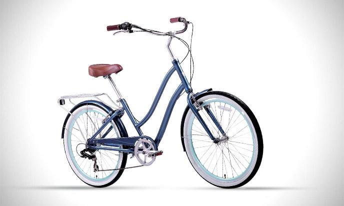 sixthreezero EVRYjourney Women's Step-Through Hybrid Cruiser Bicycle