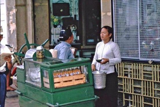 Saigon Street Food in the Past