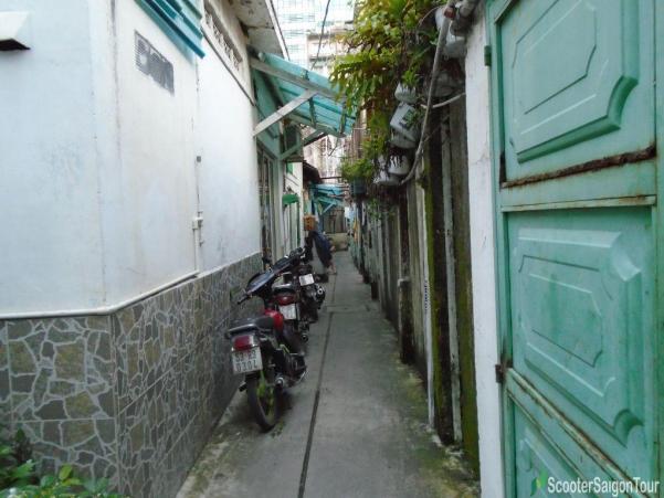 Small Alley In Saigon Tracy