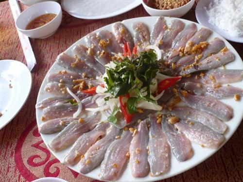 sardin salad in Phu Quoc