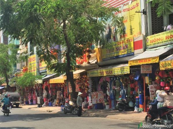 Lantern Market In China Town Saigon