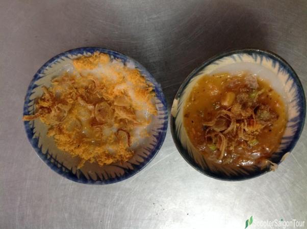 Bloating fern cake Banh Beo