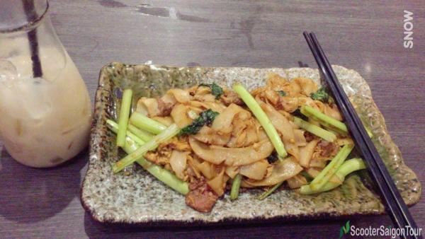 Vietnamese Stir Fried Pho