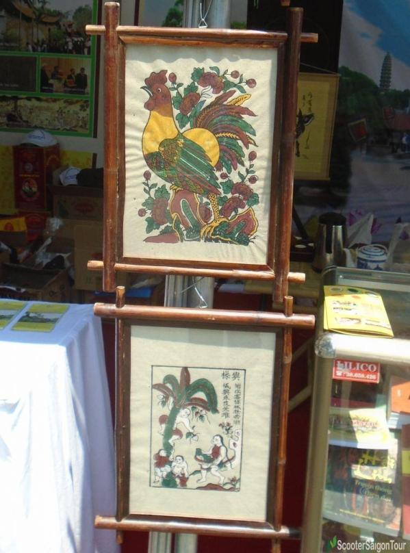 Dong Ho Painting Souvenir In Vietnam - Top Souvenirs To Buy In Ho Chi Minh City