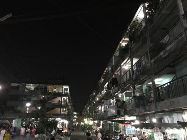 A Corner Of Saigon At Night Tracy