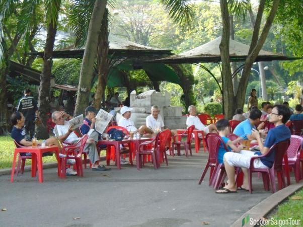 Cafe In Saigon Tracy