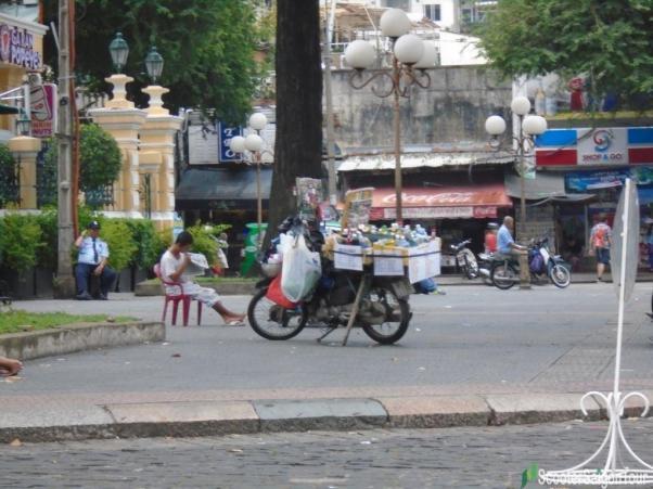 Drinking Stall On Saigon Street Tracy