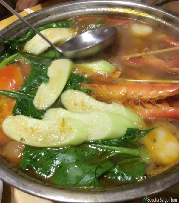 Hot Pot In Vietnam