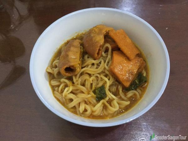 Noodle Soup With Stewed Organs In Vietnam