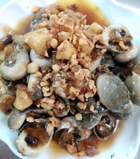 Snail Dish In Vietnam