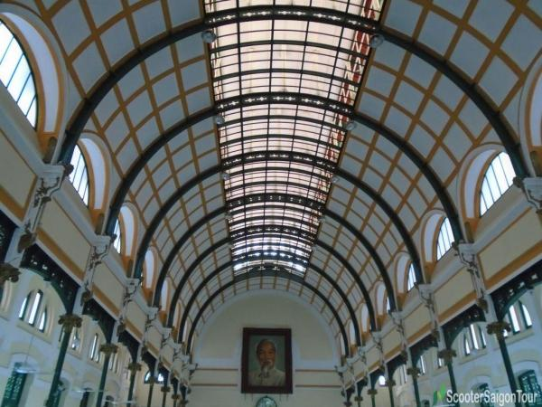 The Ceilings Of Saigon Central Post Office Tracy 2