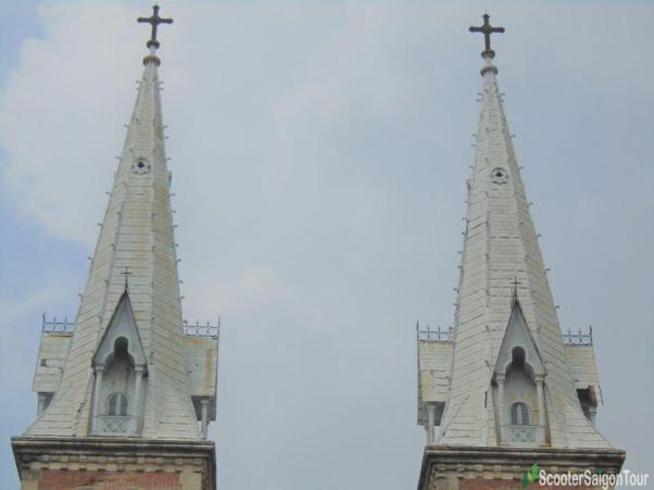 Two Bell Towers Of Notre Dame Cathedral In Saigon Tracy 5