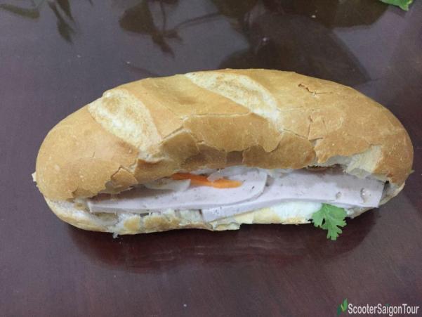 Vietnamese Bread With Pork Pie