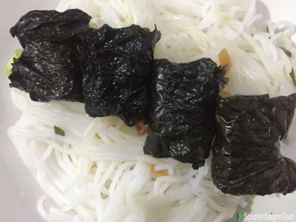 Grilled Beef In Wild Betel Leaf Or Bo La Lop In Vietnam