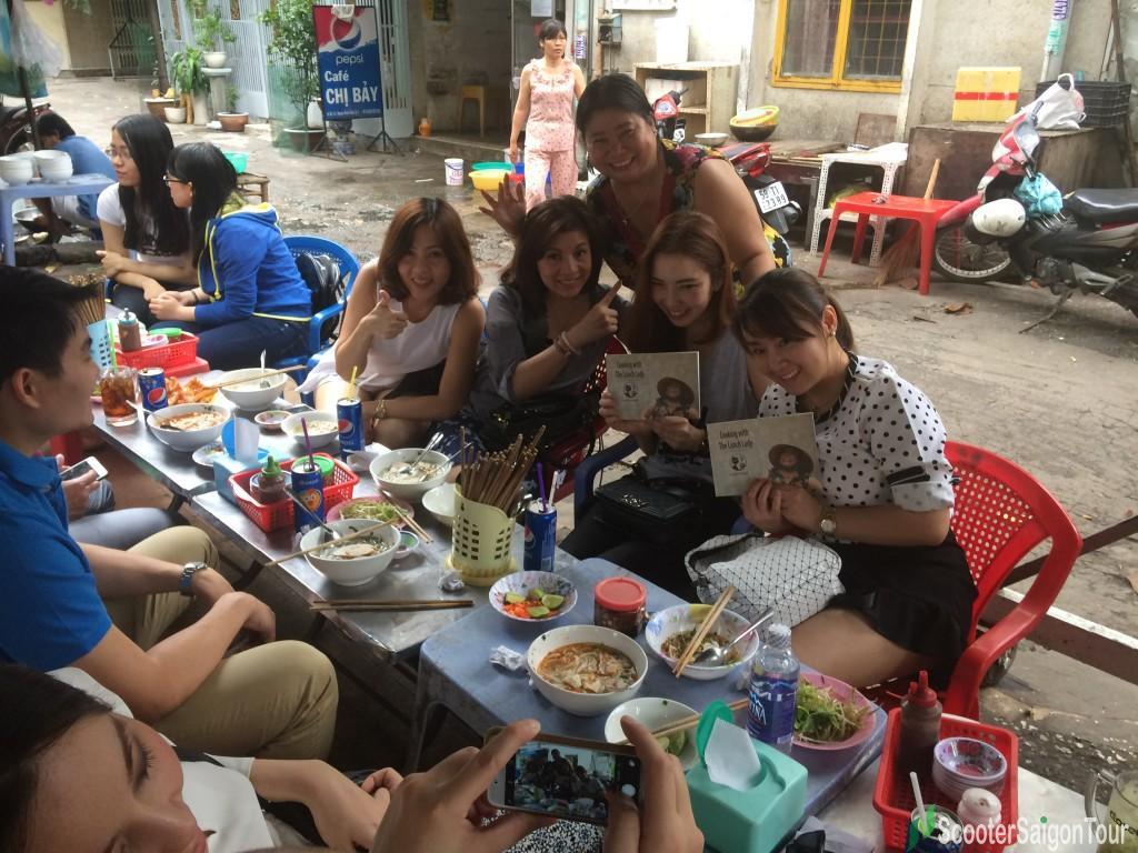 Lunch Lady's Noodle Soups In Saigon