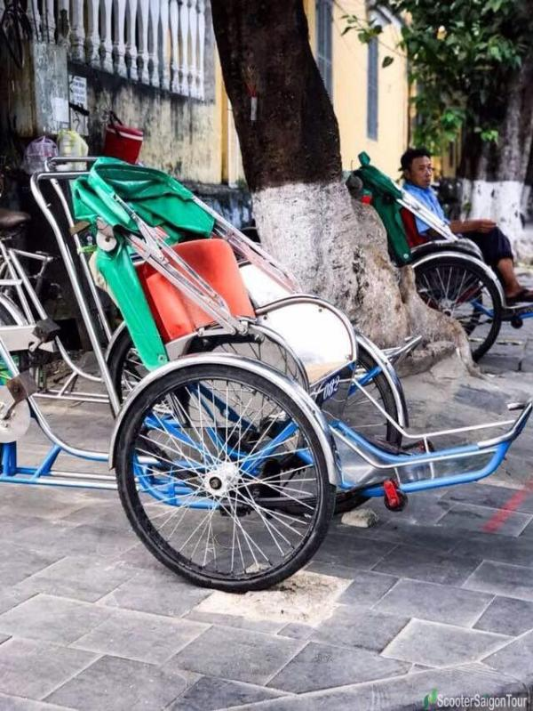 Riding Cyclo In Hoi An
