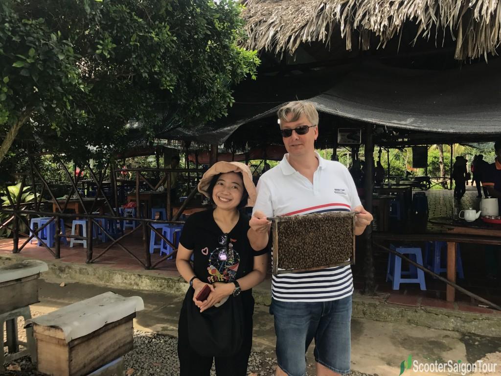 Bee In Mekong Delta