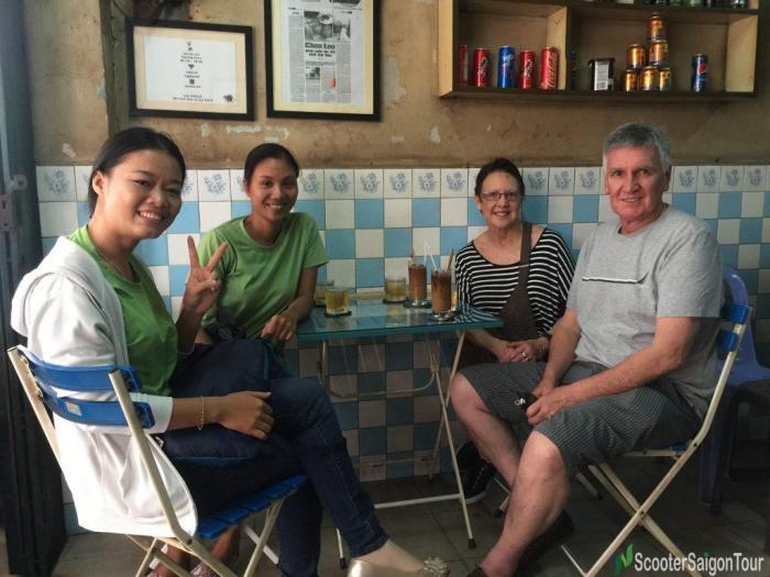 Coffee Vot Saigon Sightseeing Tour