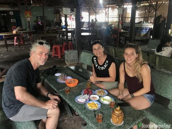Tasting Fresh Tropical Fruits In Mekong Delta