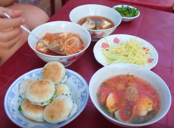 Can cake in Phan Thiet