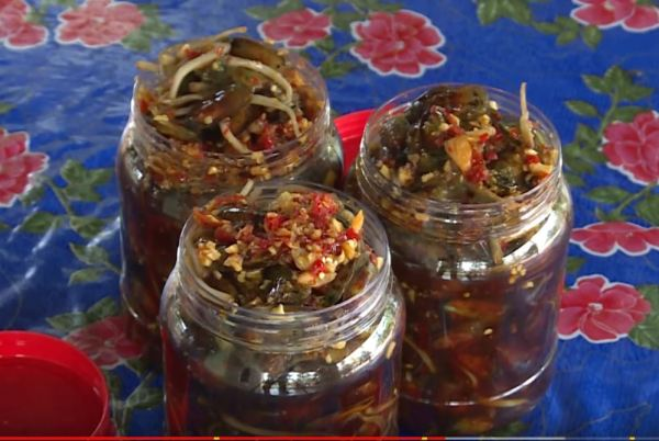 Fermented lingula anatina